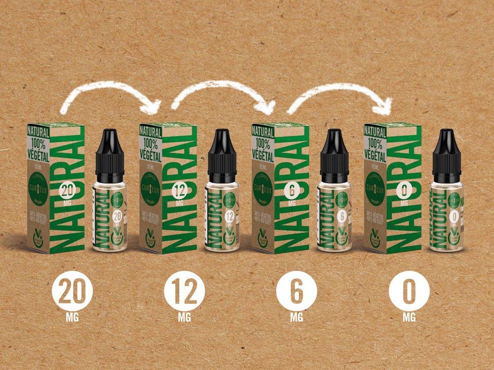 Packaging eliquide Natural - Emballage et étiquetage