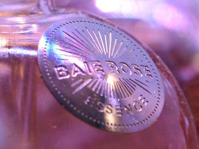 Marquage en métal - Parfums Lubin