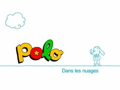 Polo dans les nuages - Clipart
