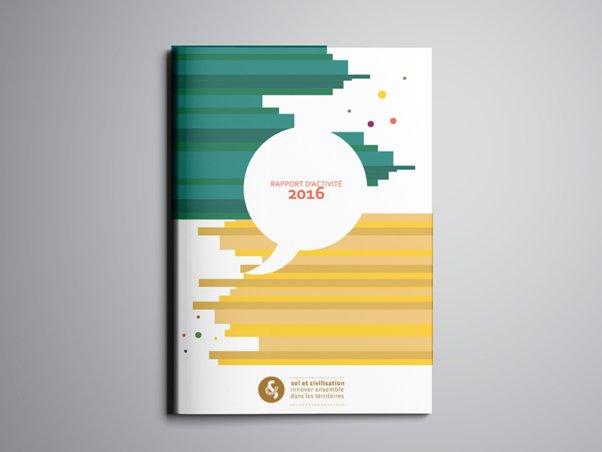 Rapport annuel 2016 | Sol & civilisation - Conception graphique