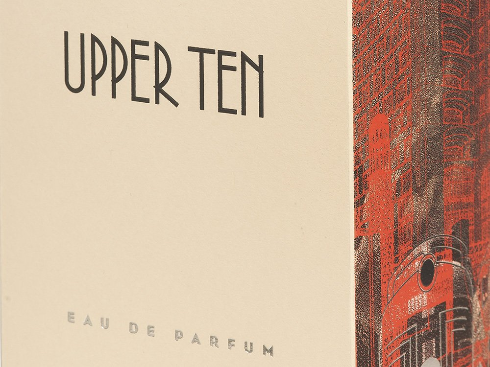 PACKAGING <br> UPPER TEN - Conception graphique