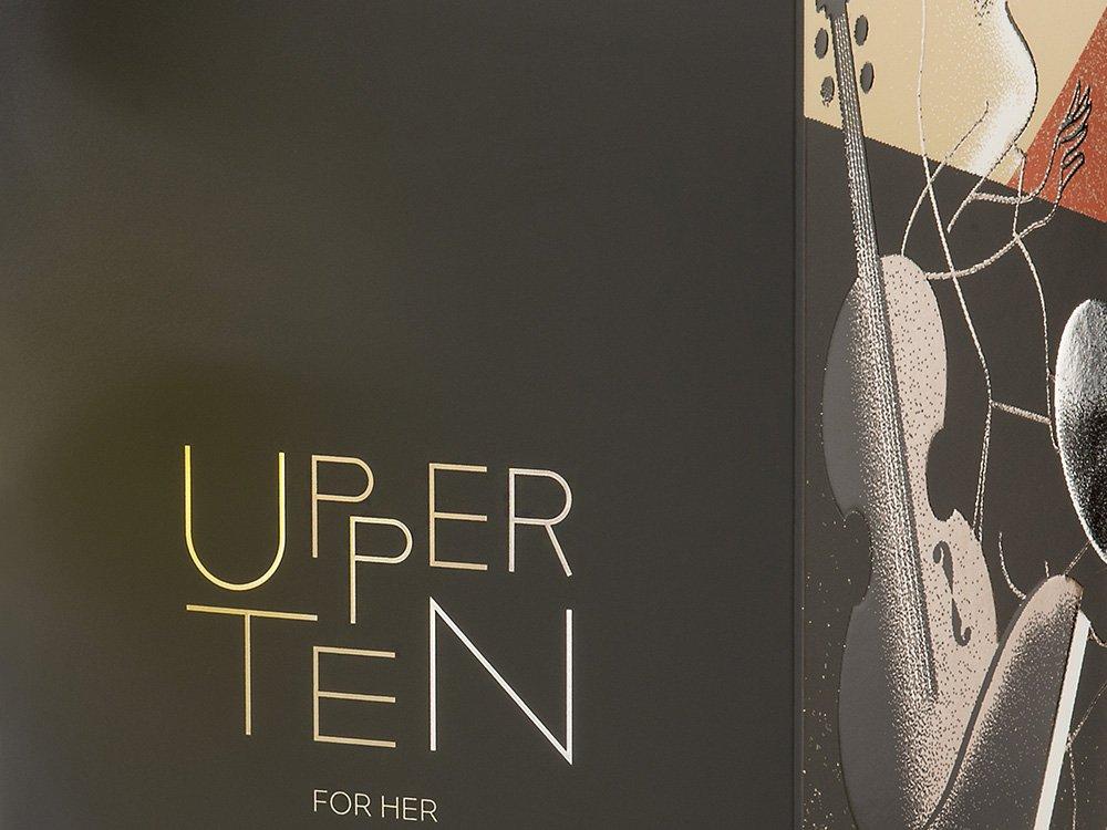 PACKAGING <br> UPPER TEN FOR HER - Parfum