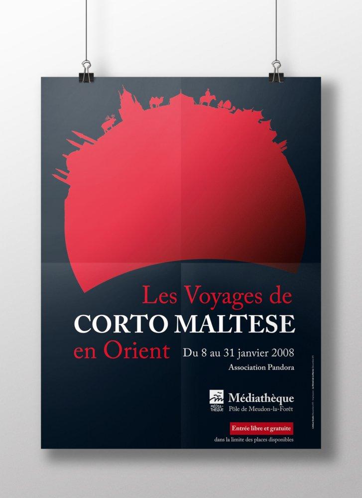 Exposition Corto Maltese - Affiche