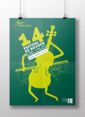 14e Festival de Meudon - Conception graphique