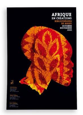 Afrique en créations - Affiche