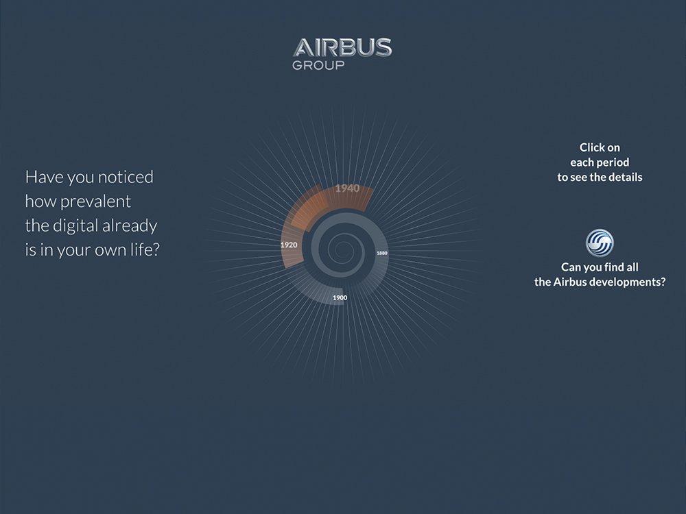 airbus-digitalxperience.com - Conception graphique