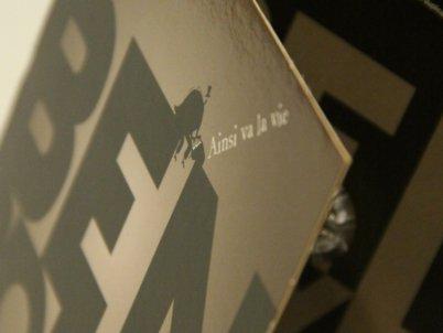 Pochette CD triptyque - Conception