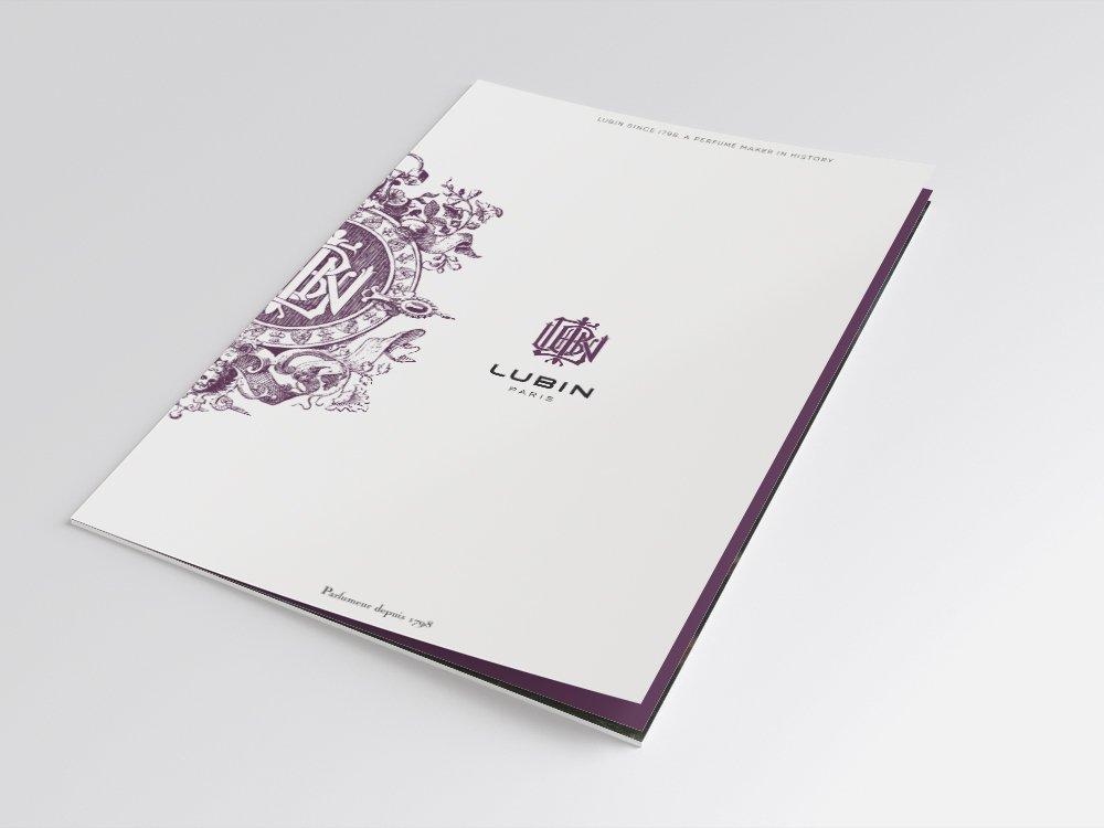 Brochure institutionnelle - Parfums Lubin