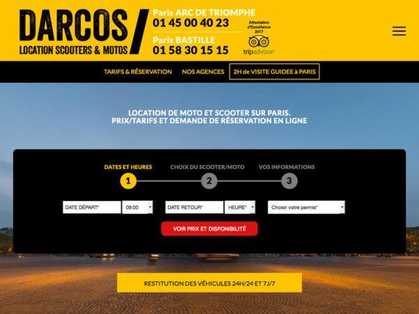 darcos-location.com - Publicité d'affichage numérique