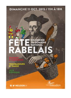 Fête de Rabelais - Conception graphique