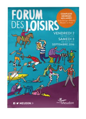 Forum des loisirs | Visuel de campagne - Affiche