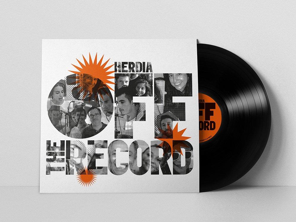 Herdia | OFF THE RECORD - Conception graphique