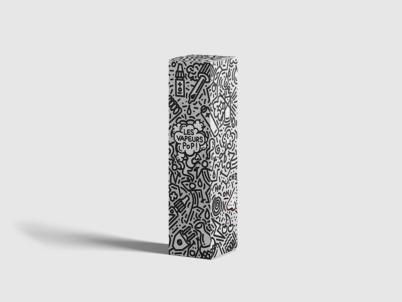 Design Packaging Les vapeurs Pop - La conception des produits