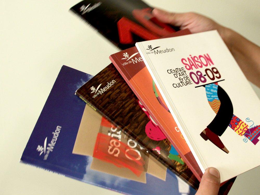 Brochures de saison | 2005-2012 - Centre d'art et de culture