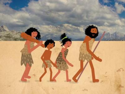 La préhistoire d'après ScaleWay - SAS en ligne
