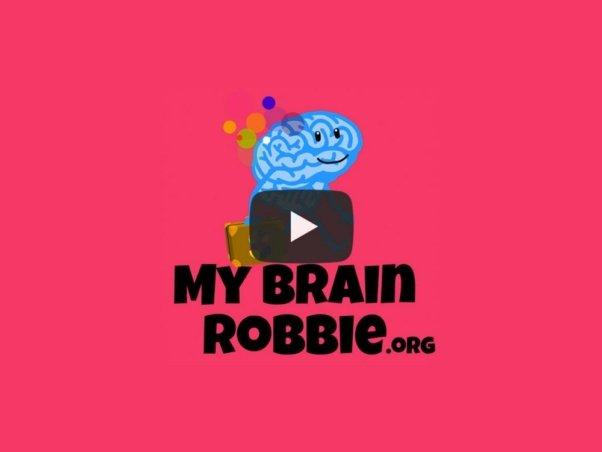 Film éducatif pour enfants sur la santé du cerveau - Conception graphique